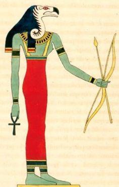 Nekhbet: Tutelary Egyptian Goddess of Upper Egypt and protector of the Nisu.