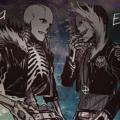 Echotale and Echofell    God so many AU and AU mixs