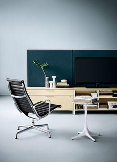 Canvas Office Landscape with Eames Aluminum Group Chair. Imagina, diseña, crea con Mober!