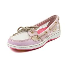Shop for Womens Sperry Top-Sider Angelfish Boat Shoe in Rose at Journeys Shoes. Shop today for the hottest brands in mens shoes and womens shoes at Journeys.com.Classic Angelfish skimmer from Sperry, featuring a leather upper with breathable mesh side panels, top stitching on toe, and leather laces. Available only online at Journeys.com and SHIbyJourneys.com! Available for shipment in April; pre-order yours today!