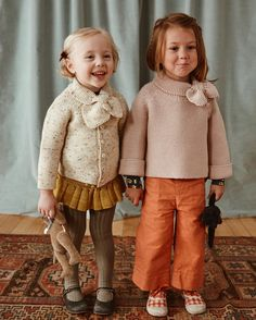 Misha and Puff sweaters Cute Outfits For Kids, Baby Outfits, Toddler Outfits, Cute Kids, Baby Girl Fashion, Toddler Fashion, Kids Fashion, Misha And Puff, Knit Baby Sweaters