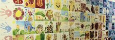 I just am so in LOVE with tile projects for schools....it's like living, breathing art for the school! So cool :)