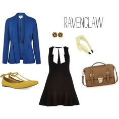 """""""Ravenclaw 1"""" by ravenclawprefects on Polyvore"""