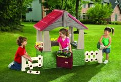 Little Tikes Home and Garden Playhouse. The Little Tikes House & Backyard Playhouse teaches your youngsters that residence growth projects are fun, that means that beautiful soon you'll be capable of give up your hammer and never lift a finger again. This adorable fixer-higher fosters a do-it-yourself angle and a way of independence. Thankfully, this playhouse sets your youngsters as much as have extra success in their residence repairs and fewer emergency...