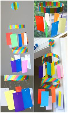 Set Of The Star Festival, Tanabata Paper Decorations. Japan For Kids, Art For Kids, Abc Crafts, Decor Crafts, School Decorations, Paper Decorations, Mobiles, Japanese Celebrations, Tanabata Festival