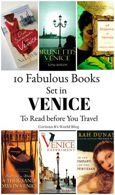 10 Fabulous Books You Need To Read Before Traveling To Venice. One of the best ways to find secret, magical things to see and do in any city is to read books that are set there. Any (or all) of these books will had layers of magic to your trip to Venice, even if you ar just dreaming of going there! #venice #books #travel #italy