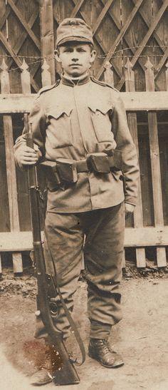 Czech infantryman, 1915