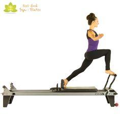 russian splits pilates reformer exercise 2