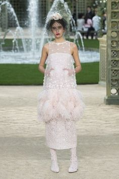 View the full Spring 2018 couture collection from Chanel.