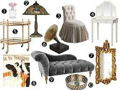 the great gatsby home decor - Google Search