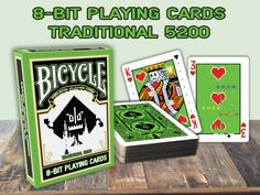8-Bit Playing cards are back. With another traditional deck with a twist.