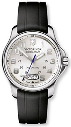 fcadbf151 Victorinox Swiss Army Classic Officer's Men's Automatic Watch 241371