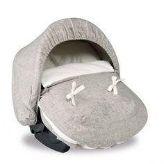 Bimbi Dreams #saco #bebé portabebés auto Grupo 0+. Colección mi juguete lino. Baby Moon