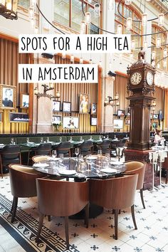 """Let's go for a high tea in Amsterdam. On http://www.yourlittleblackbook.me you can find a list with 11 great spots for the best high tea in the city with friends! Planning a trip to Amsterdam? Check http://www.yourlittleblackbook.me & download """"The Amsterdam City Guide app"""" for Android & iOs with over 550 hotspots: https://itunes.apple.com/us/app/amsterdam-cityguide-yourlbb/id1066913884?mt=8 or https://play.google.com/store/apps/details?id=com.app.r3914JB"""