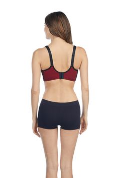 206b800b4c17c Le Mystere Womens Intimate Apparel HiImpact Sports Bra Cayenne   Visit the  image link more details