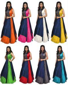 I am manufacturer...... Wholesaler and Reseller most Welcome..... 100% Quality Guarantee..... Buy Online Sarees Dress kurti lengha Designer Sarees Silk Sari Cotton Silk Saree Salwar Kameez Anarkali Lehenga Choli Etc Surat India CALL NOW =91 88 66 70 70 55 WHATSAPP=91 88 66 70 70 55 #trending #trends #trendy #sarees #saree #indian #womenfashion #fashionstyle #lehenga #lengha #dress #kurti #newcollection #colorful #traditional #fashion #bollywood #love #shopping #indianwear #ethnic #inst Lehenga Choli Latest, Latest Silk Sarees, Anarkali Lehenga, Lengha Dress, Sharara Designs, Kurti Designs Party Wear, Traditional Silk Saree, Traditional Fashion, Indian Gowns