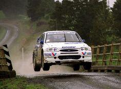 28º RALLY NEW ZEALAND 1998  4º CLASIFICADO  J.KANKKUNEN - J.REPO  FORD ESCORT WRC
