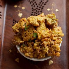 Cabbage pakora or cabbage fritters a healthy finger food although it's deep fried but yet tempting and filling.