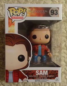 Funko Pop Supernatural Sam Winchester Vinyl Figure #FUNKO