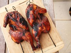 Five grilled chicken recipes from Kenji at Serious Eats. Including a must-try Peruvian chicken with green sauce.