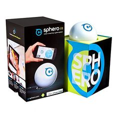 Sphero iOS and Android App Controlled Robotic Ball  Retail Packaging  White Discontinued by Manufacturer >>> You can find more details by visiting the image link.Note:It is affiliate link to Amazon.