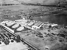 """The Goldwyn studio lot in Culver City in 1919, two years after Sam Goldfish and Edgar Selwyn formed Goldwyn Pictures. Goldfish liked the name so much he took it as his own. In 1918 Goldwyn Pictures purchased the old Triangle lot in Culver City.  Goldwyn Pictures adopted Leo the Lion as their logo, and the Latin slogan, """"Ars Gratia Artis"""" meaning """"Art for Art's Sake"""", which of course became the MGM slogan when Metro and Goldwyn merged in 1924. (Louis B. Mayer's name wouldn't be added until…"""