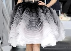 Detail from Christian Dior SS 2012 Haute Couture