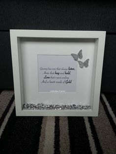 ❤️ A little silver granny box frame ❤️ These are just the cutest little frames ever! Something very different and sentimental!