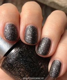 OPI DS Pewter. Just got this and I'm obsessed. Pricy but worth it!