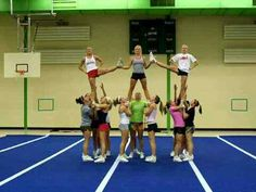 If we had enough cheerleaders we could totally do this!!!!!!!