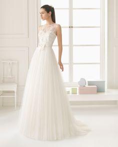EBANO vestido de novia Rosa Clará Two