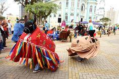 Boi de Mamão resgata tradição do carnaval do litoral paranaense
