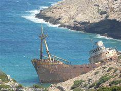 relitti nel mare -