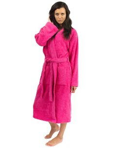 4c11e8fe38 Terry Cloth Bathrobes For Women Cotton Kimono