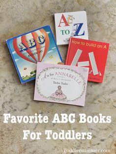 Favorite ABC Books For Toddlers