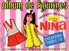 Album chicle niña