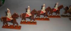 Schönes Konvolut Holzfiguren Soldaten zu Pferd / Clauss Erzgebirge | eBay