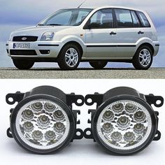 21.52$  Buy here - http://alicpc.shopchina.info/1/go.php?t=32815927211 - For FORD Fusion Estate JU_  2002-2015 Car-Styling Led Light-Emitting Diodes DRL Fog lamps 1set  #buyininternet