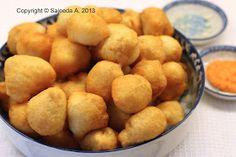 Croquettes de poulet à la mauricienne - Chicken croquettes. What I have been dreaming of!