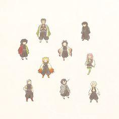 ま ろ(@howa_______)さん / Twitter Manga Anime, Anime Chibi, Kawaii Anime, Anime Art, Slayer Meme, Demon Slayer, Anime Angel, Anime Demon, Fanart