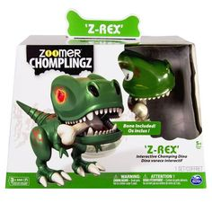 Zoomer Chomplingz Z-Rex: stoere dino als huisdier? Dino Toys, Pet Toys, Christmas Presents 2016, Christmas 2015, Christmas Ideas, Robot Dinosaur, Dinosaur Museum, Hot Hands, Cool Toys For Boys