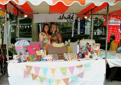 sweet craft show booth