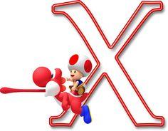 Alfabeto Mario Bros..X