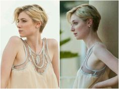 "Sexy pixie. (Elizabeth Debicki as Jed Marshall in ""The Night Manager"".)"