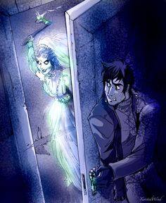 Here Comes the Bride by twisted-wind on DA  I immediately thought of Jane Eyre with Mr. Rochester and his creepy wife.