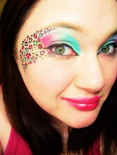 leopard print makeup - Google Search
