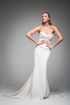 e8df0f90667e9 Goddess Collection — SARAH JANKS. Classic Wedding DressCrepe ...