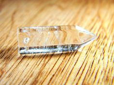 Quartz Crystal Point Drilled Matched Pair 'I' by Aerieanna on Etsy, $5.20