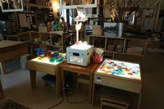 Setting up the Teacher: A Peek into Nammi's Classroom Reggio Emilia Preschool, Reggio Emilia Classroom, Reggio Inspired Classrooms, Preschool Rooms, Kindergarten Classroom, Preschool Ideas, Classroom Setting, Classroom Decor, Classroom Displays