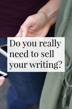 Do you wish you could just write and not worry about the rest of it? I'm talking all about selling your writing in this post. | Elsie Road Magazine